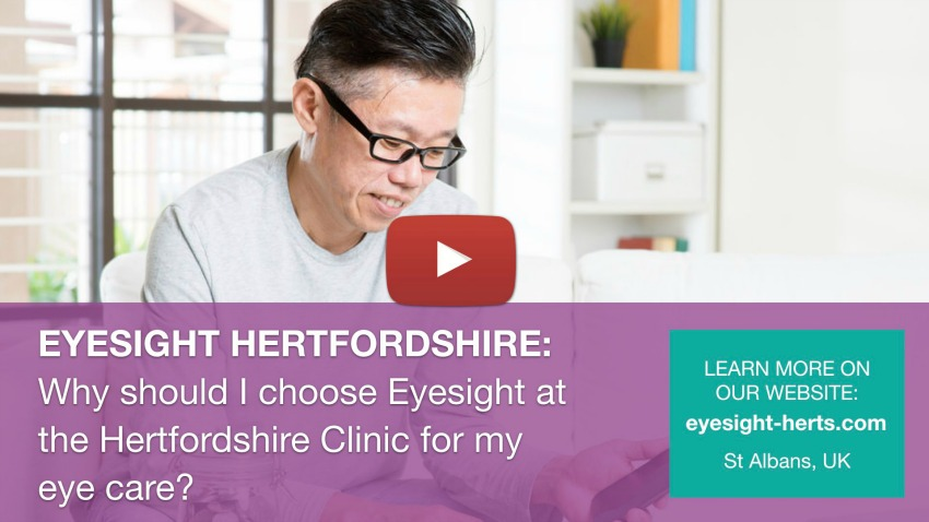 Flashes and floaters | Eyesight Herts | St Albans Eye